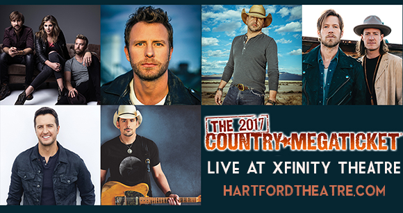 2017 Country Megaticket Tickets (Includes All Performances) at Xfinity Theatre
