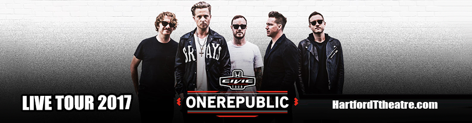 OneRepublic, Fitz and The Tantrums & James Arthur at Xfinity Theatre