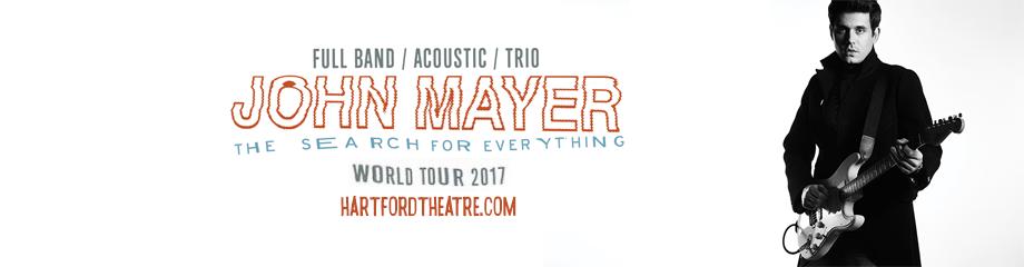 John Mayer at Xfinity Theatre