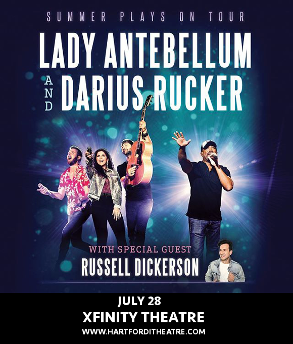 Lady Antebellum, Darius Rucker & Russell Dickerson at Xfinity Theatre