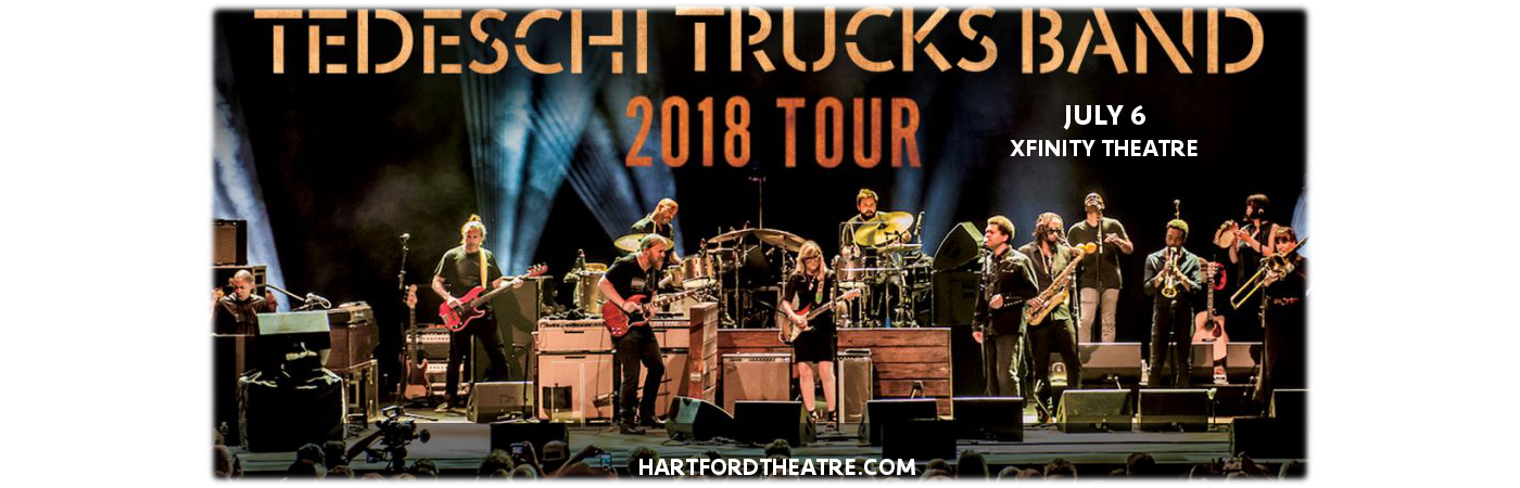 Tedeschi Trucks Band, Drive By Truckers & The Marcus King Band at Xfinity Theatre