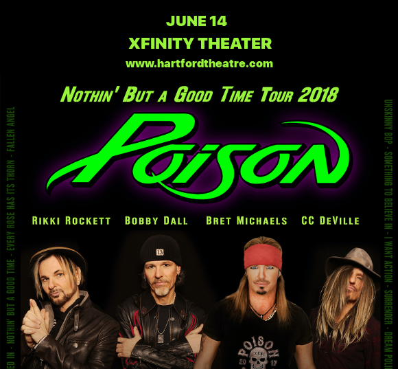 Poison & Cheap Trick at Xfinity Theatre