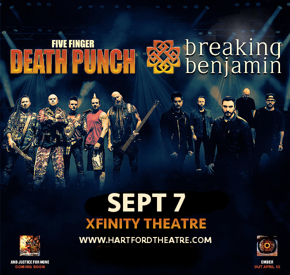 Five Finger Death Punch & Breaking Benjamin at Xfinity Theatre