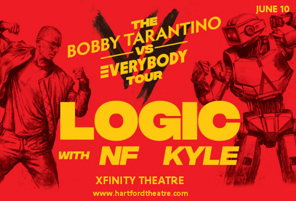 Logic, NF & Kyle at Xfinity Theatre
