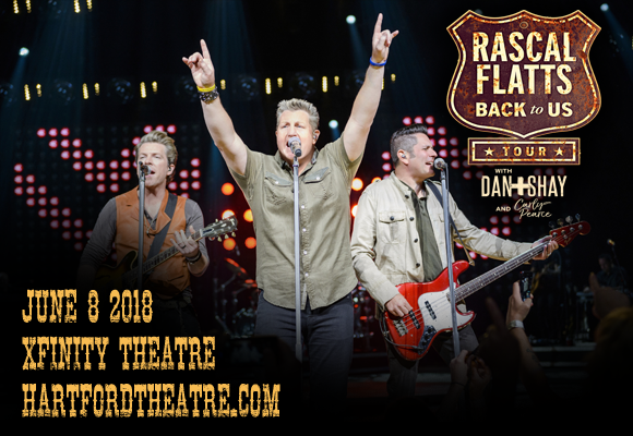 Rascal Flatts, Dan and Shay & Carly Pearce at Xfinity Theatre
