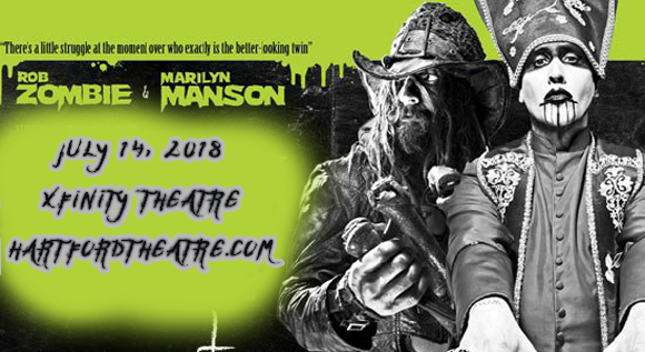 Rob Zombie & Marilyn Manson at Xfinity Theatre