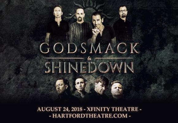 Shinedown & Godsmack at Xfinity Theatre