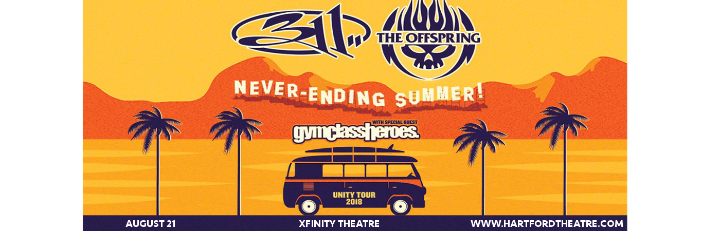 311 & The Offspring at Xfinity Theatre