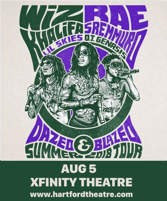 Wiz Khalifa & Rae Sremmurd at Xfinity Theatre