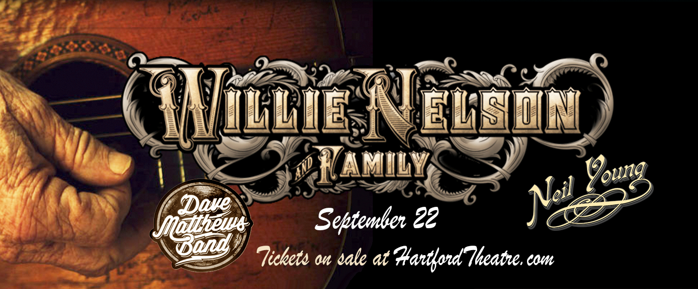 Willie Nelson, Neil Young, John Mellencamp & Dave Matthews at Xfinity Theatre