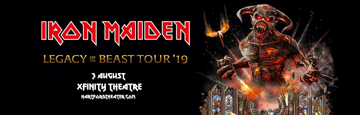 Iron Maiden at Xfinity Theatre