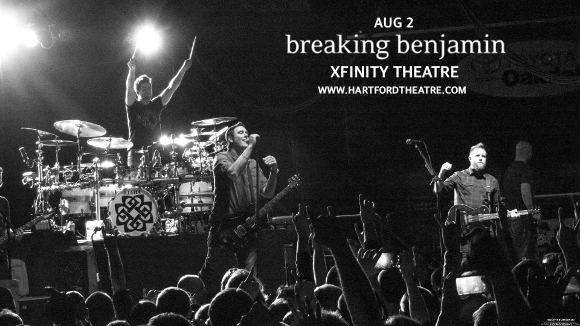Breaking Benjamin at Xfinity Theatre