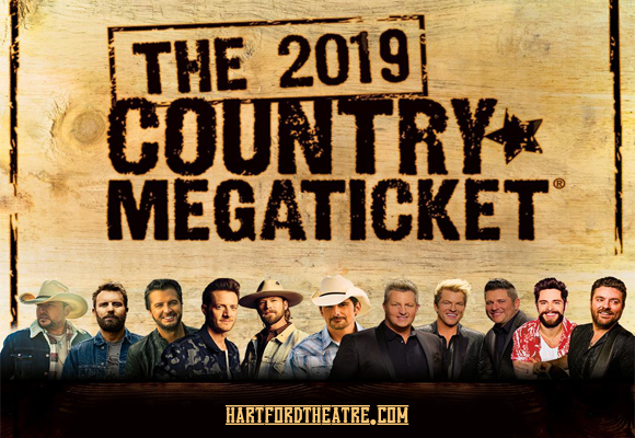 2019 Country Megaticket Tickets (Includes All Performances) at Xfinity Theatre