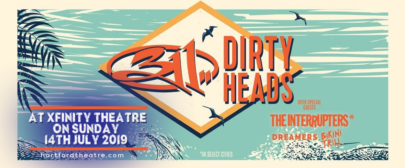 311 & The Dirty Heads at Xfinity Theatre