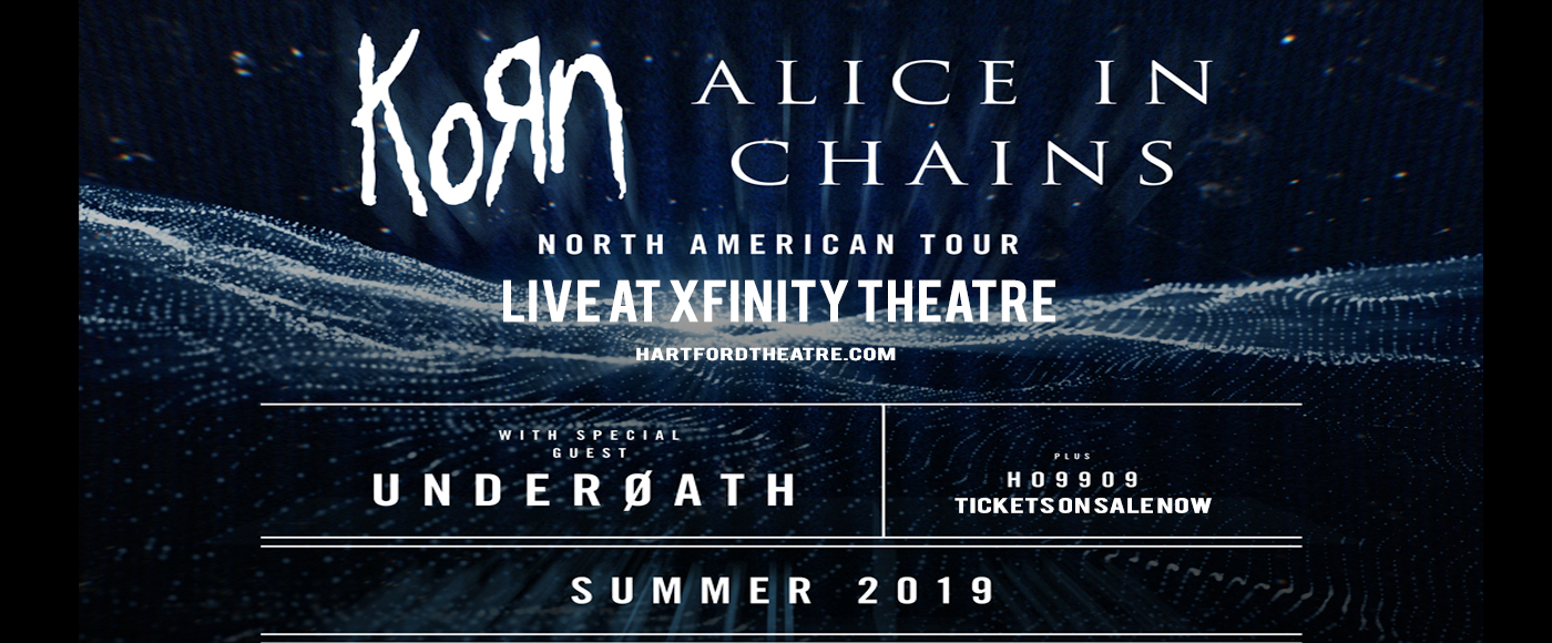 Korn & Alice In Chains at Xfinity Theatre