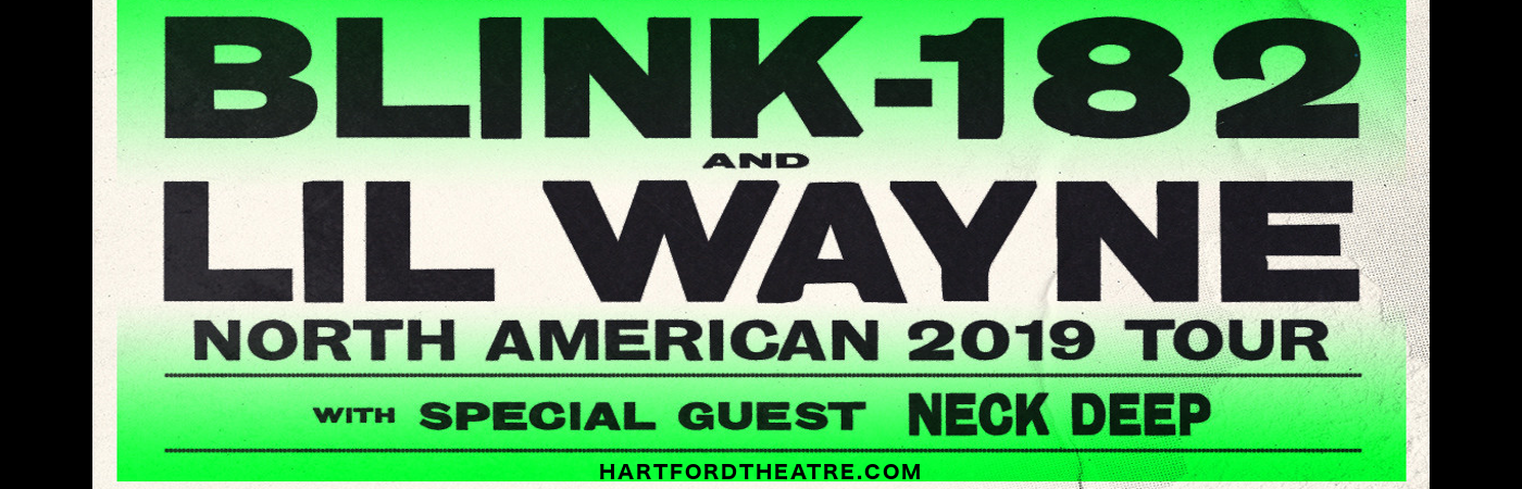 Blink 182 & Lil Wayne at Xfinity Theatre