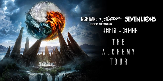 Nghtmre, Slander, Seven Lions & The Glitch Mob at Xfinity Theatre