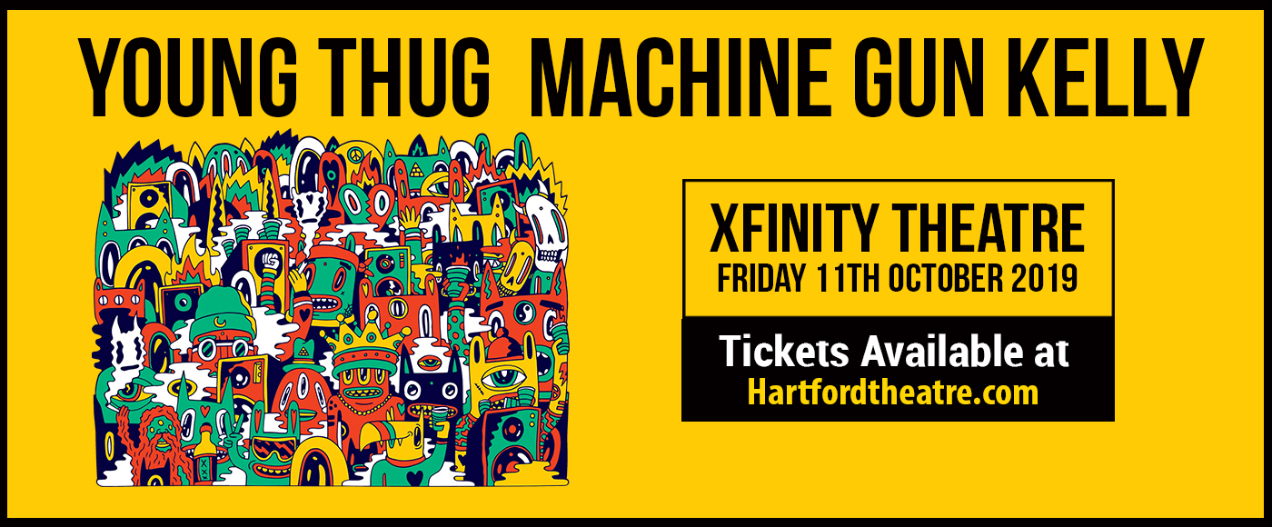 Young Thug & Machine Gun Kelly at Xfinity Theatre