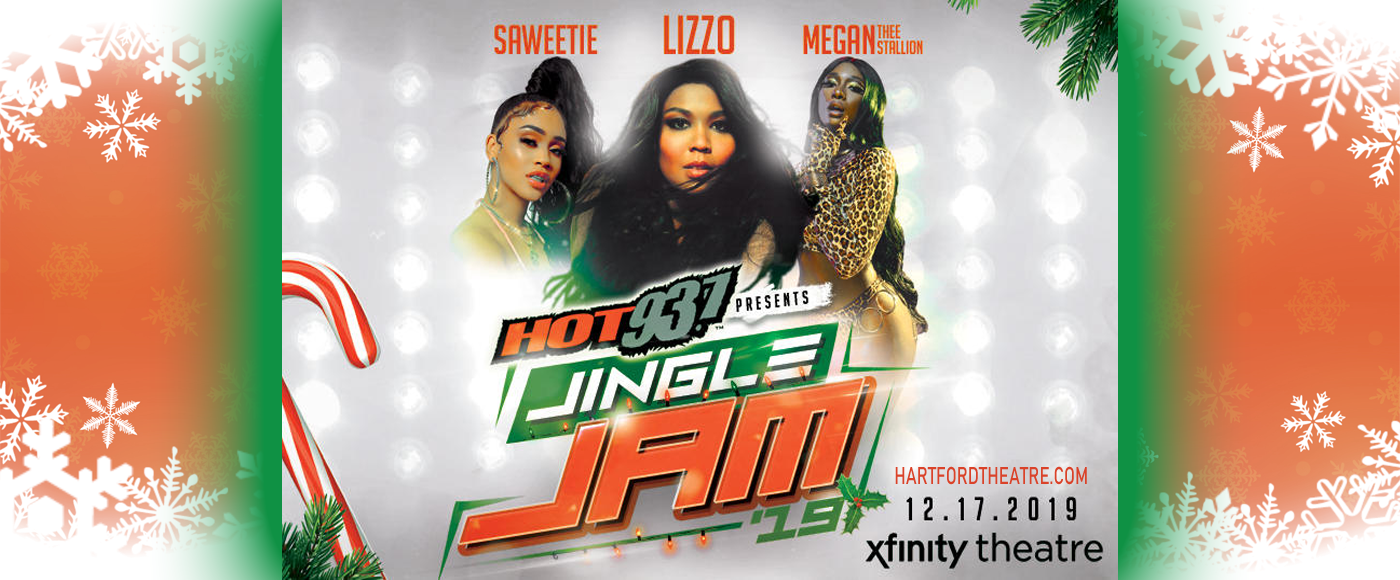 Hot 93.7 Jingle Jam: Lizzo, Megan Thee Stallion & Saweetie at Xfinity Theatre