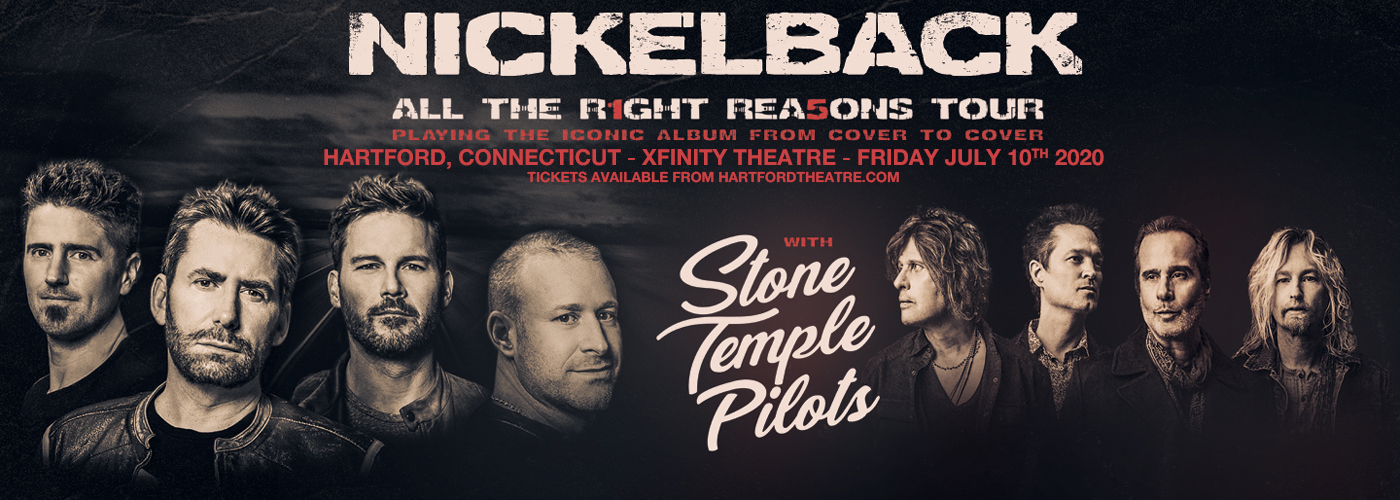 Nickelback, Stone Temple Pilots & Tyler Bryant and The Shakedown at Xfinity Theatre