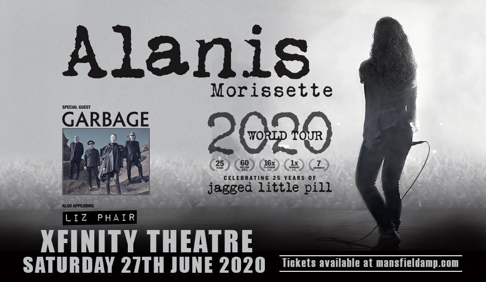 Alanis Morissette [POSTPONED] at Xfinity Theatre