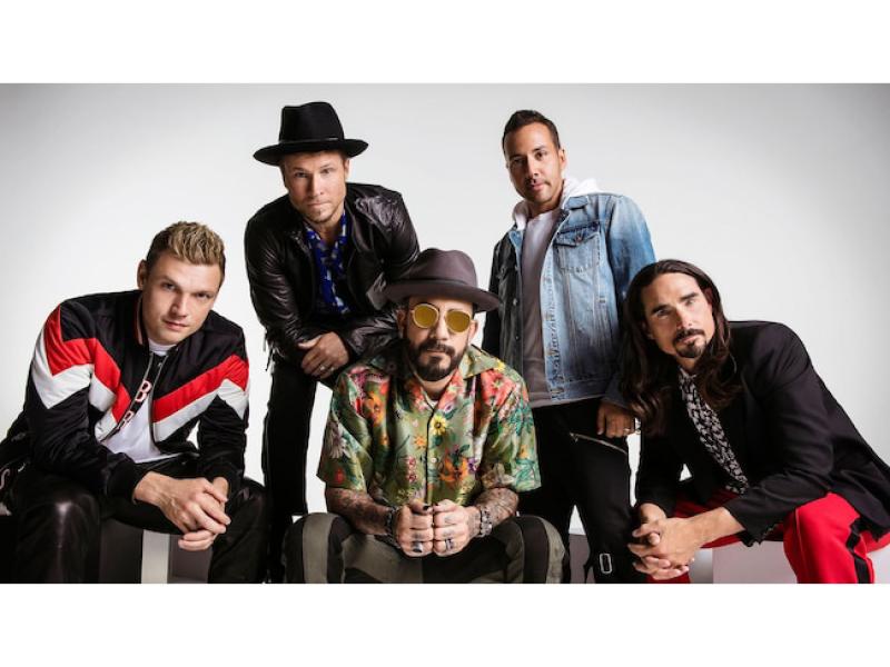 Backstreet Boys at Xfinity Theatre