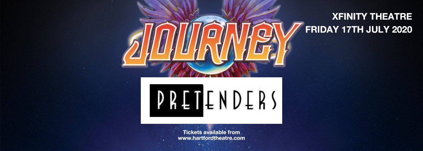 Journey & The Pretenders [CANCELLED] at Xfinity Theatre