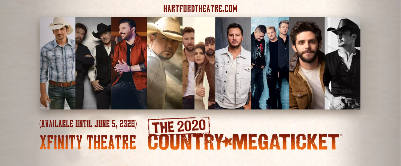 Country Megaticket (Includes Tickets To All Performances) [CANCELLED] at Xfinity Theatre