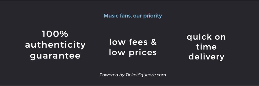 xfinity theatre ticket policy