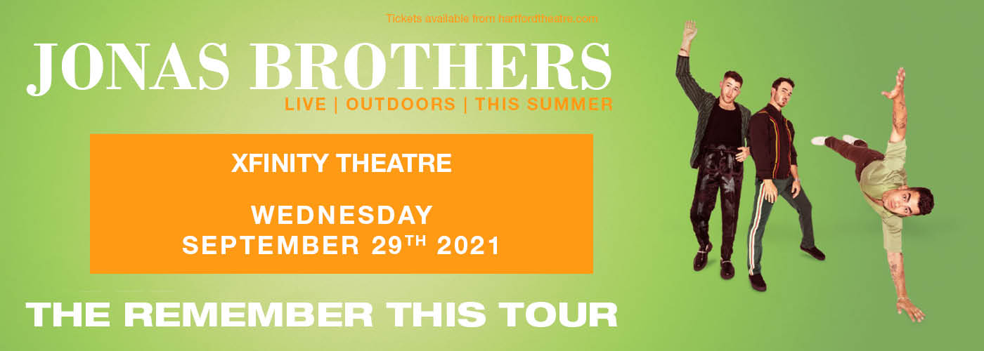 The Jonas Brothers: Remember This Tour at Xfinity Theatre