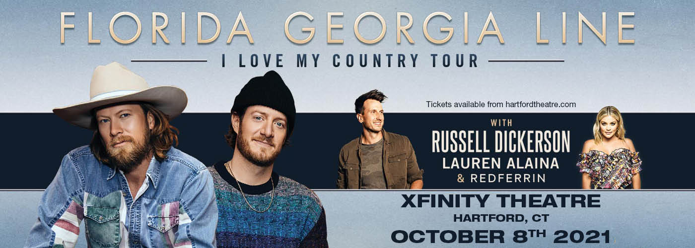 Florida Georgia Line: I Love My Country Tour [CANCELLED] at Xfinity Theatre