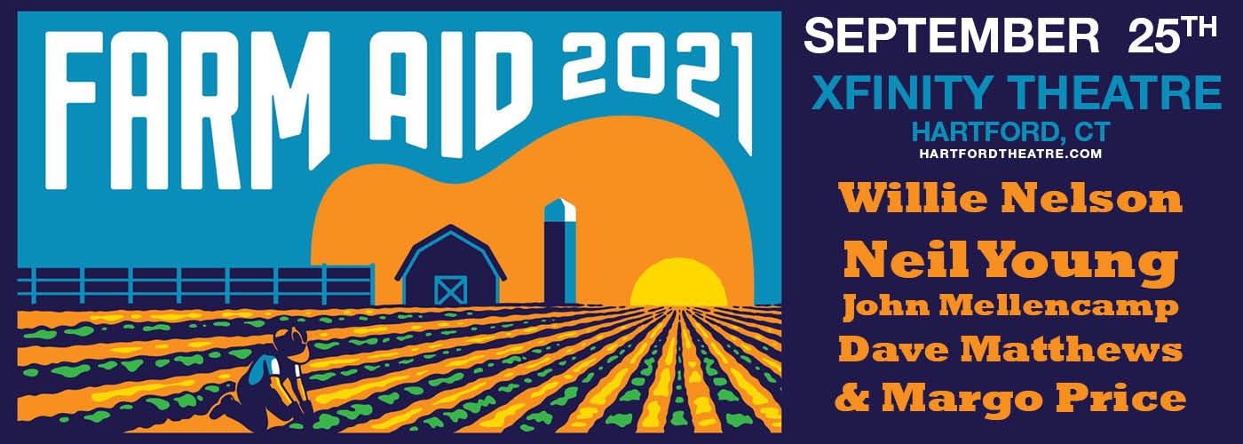 Farm Aid 2021: Willie Nelson, Neil Young, John Mellencamp & Dave Matthews at Xfinity Theatre